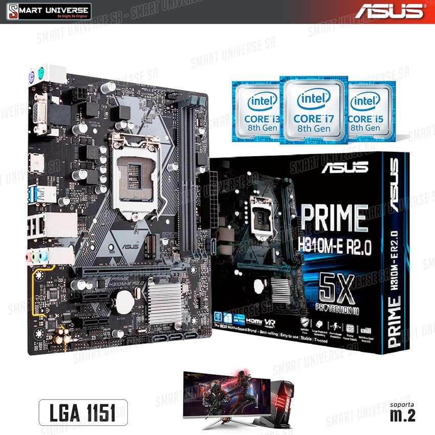Mainboard Asus H310m Lga 1151 Hdmi Vga Core I3 I5 I7 8va Gen 0