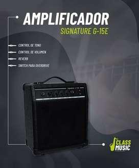 AMPLIFICADOR SIGNATURE G-15E- NUEVO!!