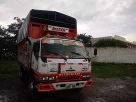 Camion de carga pesada para trabnajos