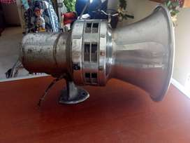 Antigua sirena Federal de las patrullas de Chucago funcional