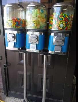 Vendo o cambio Negocio  de Máquinas dispensadoras de dulces