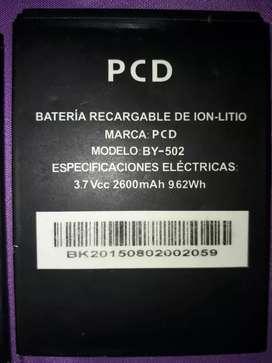 Vendo baterias pcd