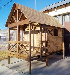 Vendo casitas de madera  para niños... EXCELENTES PRECIOS!!!