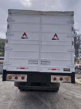 Vendo furgón para mula