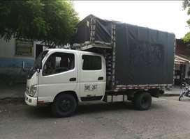camión Fotón doblecabina