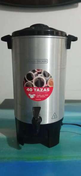 Percoladora BLACK+DECKER 40 TAZAS 2da