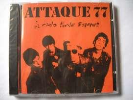 attaque 77 el cielo puede esperar cd sellado