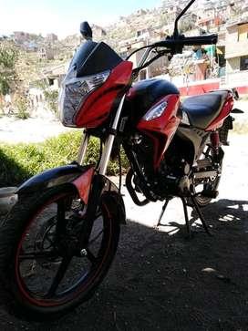 Moto italika 125. Del 2019. Recorrido menos de 4000