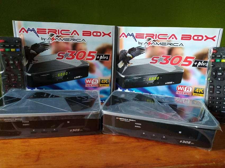 Receptor AmericaBox s305 Plus 0
