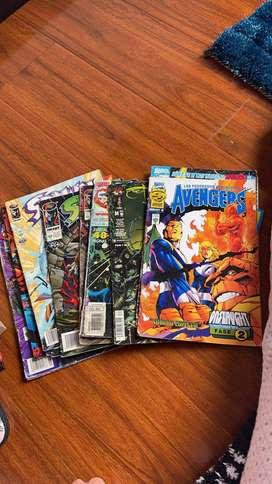 Colección de cómics de los 90's variados