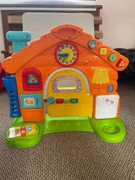 Juego infantil con accesorios completos