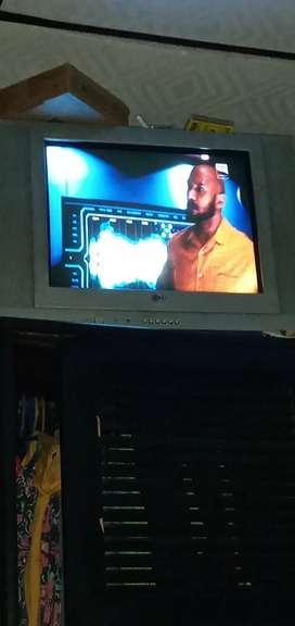 Tv de 21 pulgadas marca lg con control
