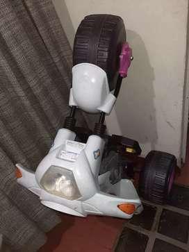 Moto para niña sin batería