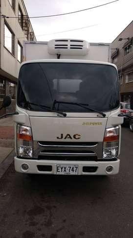 Camión refrigerado furgon con termo