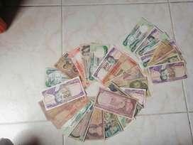 Se venden billetes antiguos Colombianos