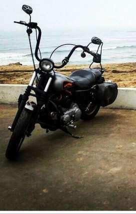 Vendo Harley Davidson Sportster 883 -> 1200 XL Low 2006