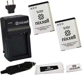 Combo Kit Batería (2pack) y cargador para Nikon EN-EL23