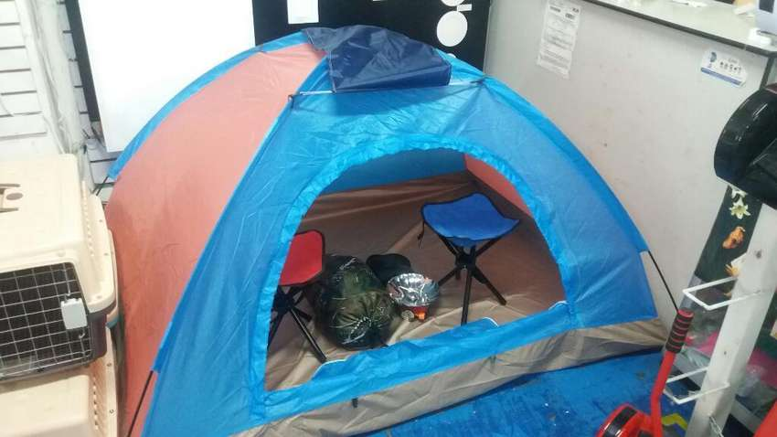 Carpa de camping 2 Personas Nadeportes. 0
