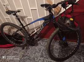 Se vende bicicleta MTB, dos meses de uso.
