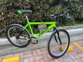 Bicileta urbana de 6 velocidades como nueva