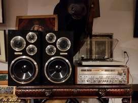 Parlantes Pioneer vintage 90 Watts
