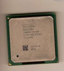 Procesador Intel Pentium4 Sl7pm.