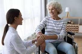Cuidadora de adultos mayores