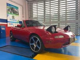 Mazda Miata 91, convertible