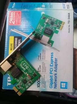 tarjeta de red Gigabit PCI Express