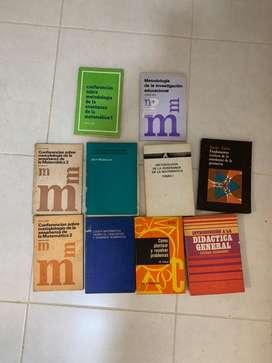 Libros maestria didactica de la matematica