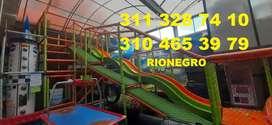 OPORTUNIDAD INVERSION PARQUE INFANTIL SUPER COMPLETO GANGA RIONEGRO