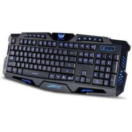 Teclado Gaming Retro Iluminado M200