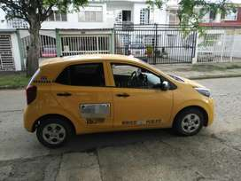Se vende taxi Kia Picanto casi nuevo