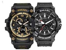 Reloj Deportivo Analogo Digital Smael 1809 Multifunciones