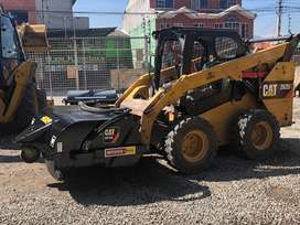 Barredora caterpillar bobcat cat BP15B año 2008