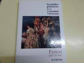 GRANDES PINTORES DE LA COMUNIDAD VALENCIANA LIBRO DE PINTURA
