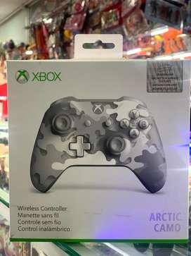 Control xbox one arctic camo original
