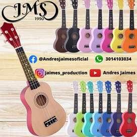 ukelele profesional marca JMS soprano y concierto Kit completo