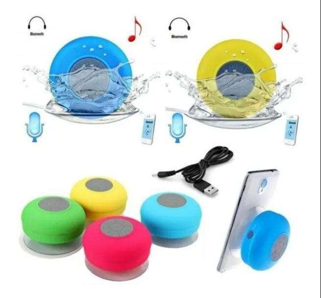 Parlante Alta Voz Recargable Ducha Bluetooth Resiste Agua 0