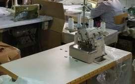 Busco trabajo como costurera : en maquina recta ,overlok, recubridora  , tengo 5 años de experiencia ,agil .