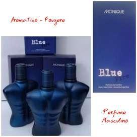 Perfume Masculina Monique Blue Fire