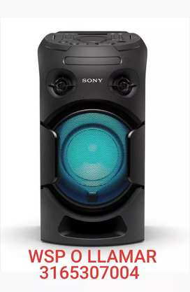 EQUIPO O TORRE DE SONIDO SONY CON BLUETOOTH NFC RADIO USB DVD CD MP4 HDMI TV AUXILIAR MESCLADOR NUEVO