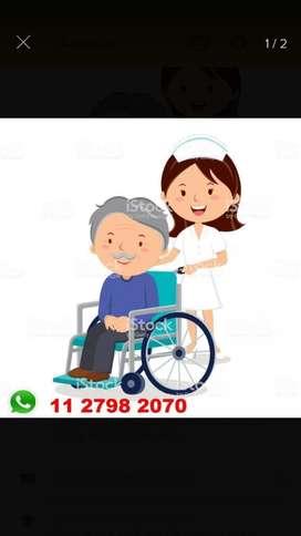 Auxiliar de Enfermería Y Cuidadoras