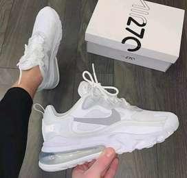 Zapatos nike airmax 270 blancos