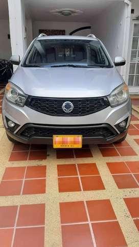 Se vende Camioneta ssangyong korando C 2015
