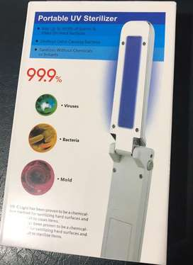 Lampara UV portatil para desinfeccion
