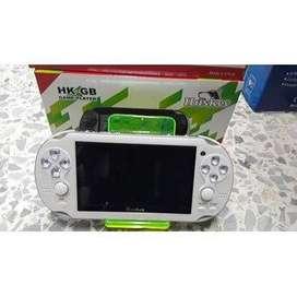Consola Huskee Mp5 con más de 100 juegos incorporados