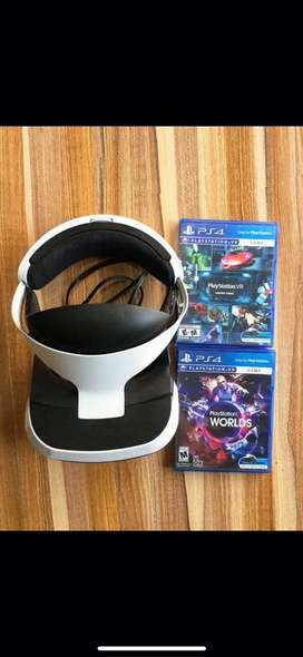 Vendo gafas de realidad virtual para PS4