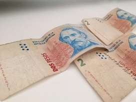 BILLETES $2 ARGENTINA