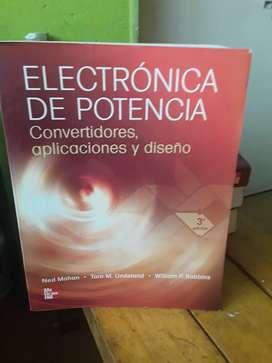 Electrónica de potencia aplicaciones convertidores y diseño robbins Ed  mcgraw Hill